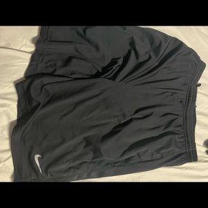 Men's black nike shorts